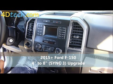 "4"" to 8"" Upgrade w/ SYNC 3 