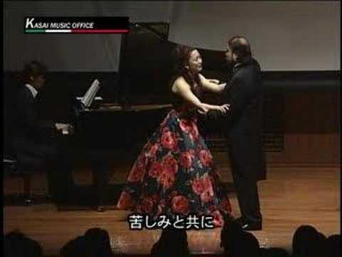 Pura siccome un angelo - La Traviata - 2/2 歌劇「椿姫」 二重唱 天使のように