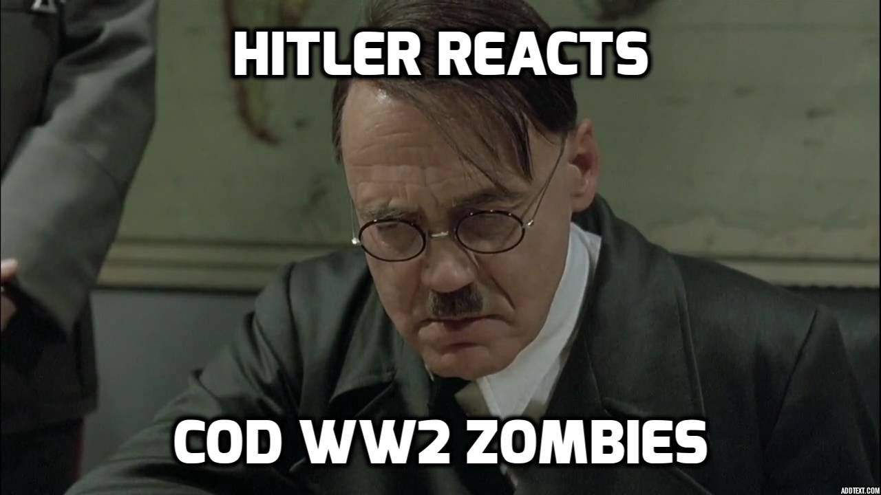 maxresdefault hitler reacts to call of duty ww2 zombies youtube