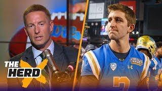 Joel Klatt calls Josh Rosen a 'walking contradiction,' Baker Mayfield the next Drew Brees | THE HERD