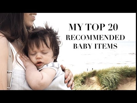 My Top Recommended Baby Products