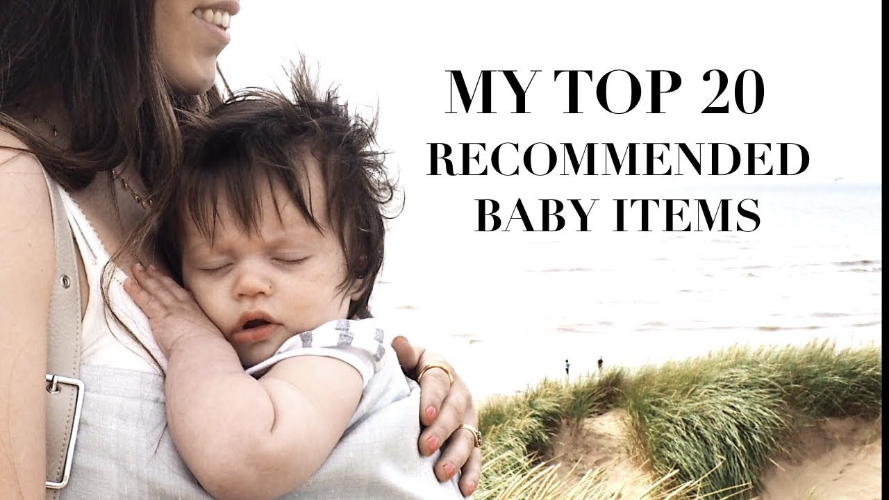 My Top Recommended Baby Products Sally Fazeli