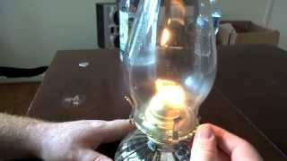 How to Use - Fill - Light an Oil Lamp or Oil Lamp How to Video.