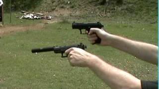 Walther P22 Gemtech Silencer / Suppressor Test