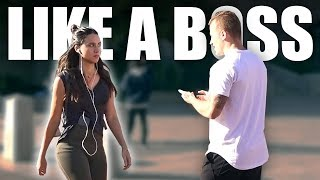 How to Flirt Like a BOSS (3 simple tips)