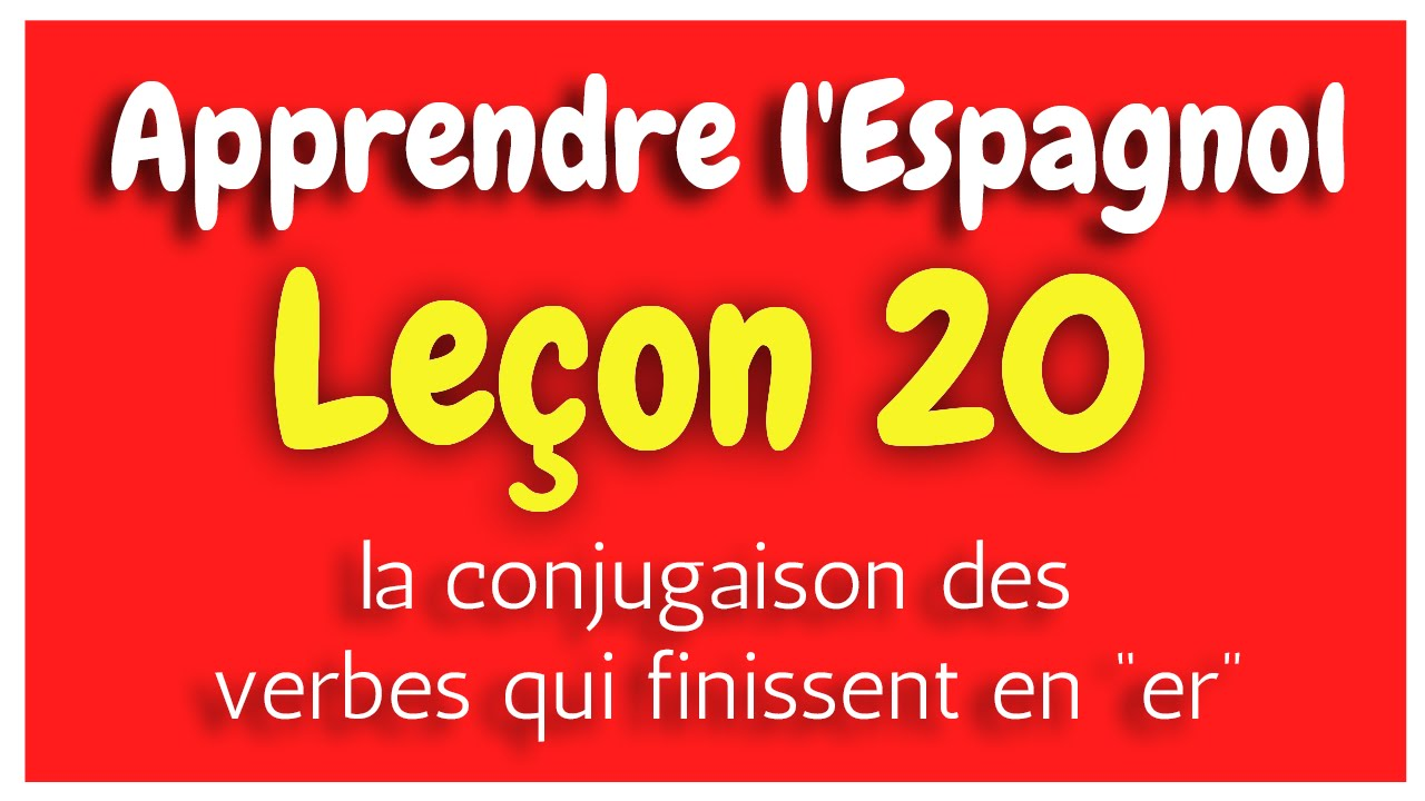 apprendre l 39 espagnol le on 20 conjugaison des ver u7ckm8y0nw4. Black Bedroom Furniture Sets. Home Design Ideas