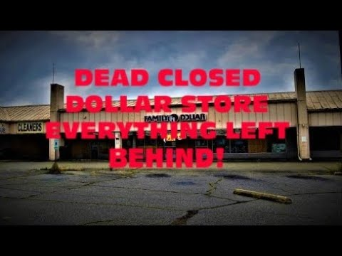ABANDONED FAMILY DOLLAR STORE Everything Left Behind