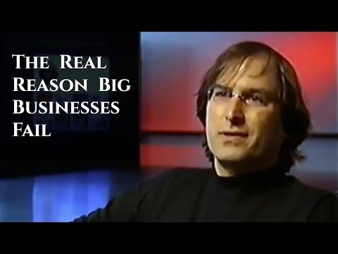 Steve Jobs: Why Companies Fail (#Shorts)