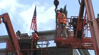 San Diego Miramar College Police Station Topping Off Ceremony