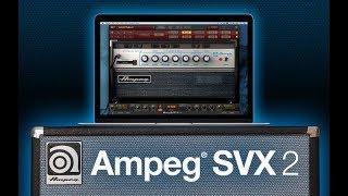 Ampeg SVX 2 for AmpliTube - Trailer