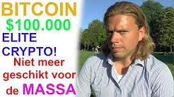 Wees snel! Bitcoin maakt je ELITE - maar straks te duur - Bitcoin niet voor de MASSA #bitcoin