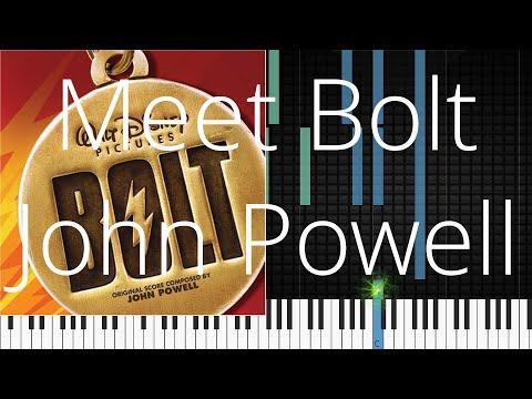 🎹 Meet Bolt, John Powell, Synthesia Piano Tutorial