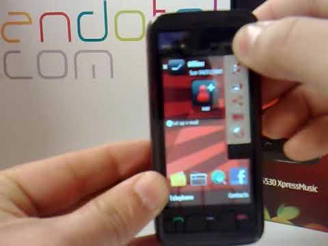 Nokia 5530. Demostracion del Nokia 5530 a cargo de Andotel.com