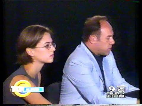 Carlo Verdone e Regina Orioli presentano Gallo Cedrone 1998