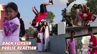 Backflips In Public Reaction!! #1  ( Crazy Reaction ) in Nepal  | ASquare Crew | Abhay Chaudhary