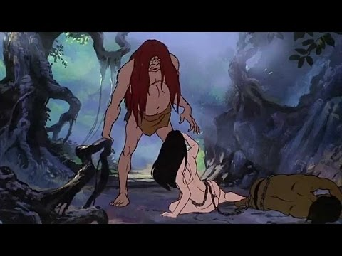 Fire & Ice Animated Cartoon Full Movie In English 1983  Part 5/8