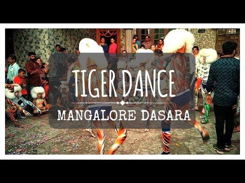 TIGER DANCE | HULIVESHA | MANGALORE DASARA