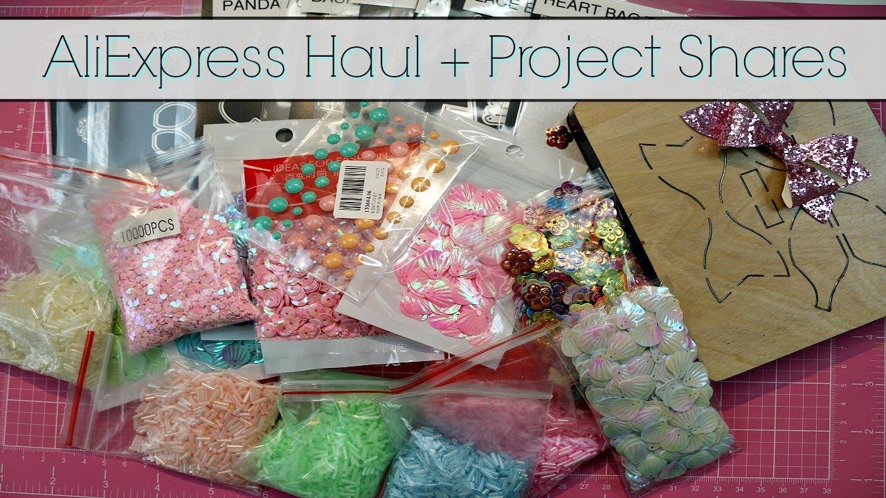 ALIEXPRESS HAUL + PROJECT SHARE