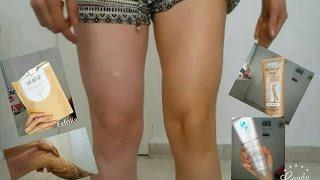 Las de las maquillaje piernas cubrir estrías como con