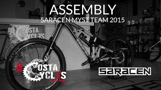 ACOSTA CYCLES - ASSEMBLY SARACEN MYST TEAM 2015