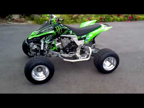 Kawasaki KFX 450 *SUPERQUAD* Sreet legal* - YouTube