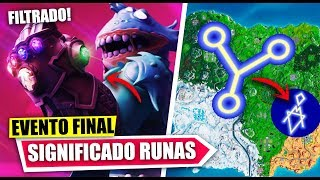 * SECRET * RUNAS MEANING * FINAL EVENT * AVENGERS END GAME * FILTERED * | FORTNITE BATTLE ROYALE