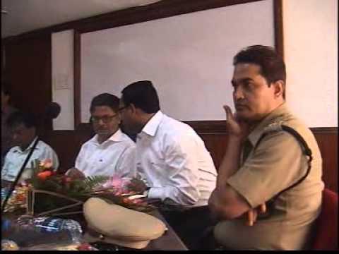 Chief Secretary Samar Ghosh's Visit to DM Birbhum