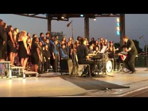 Lawrence High School Chorus singing Take Me to the Water