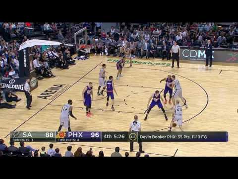 San Antonio Spurs vs Phoenix Suns | January 14, 2017 | NBA 2016-17 Season