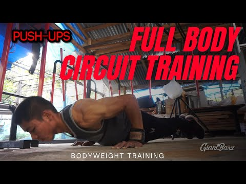 ตารางฝึกกล้ามเนื้อ+ลดไขมัน ทั้งร่างกาย Full Body Circuit Training