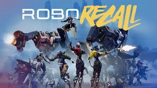 Robo Recall - Announcement Trailer | Oculus Touch Shooter from Epic Games