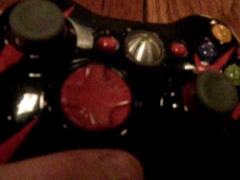 custom painted nike xbox 360 controller