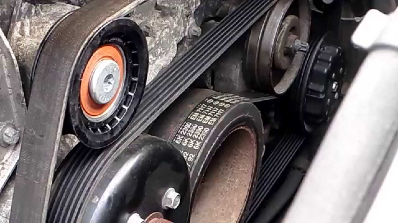 mercedes m112 v6 and m113 v8 idler pulley replacement