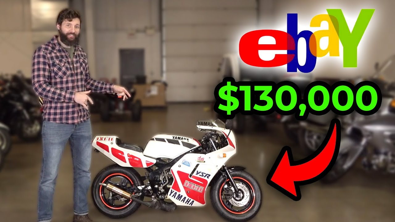 I Sold the Worlds Smallest Motorcycle for $130,000 on ebay?