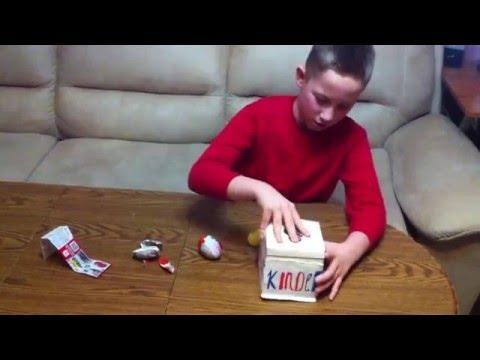 Киндер сюрприз загадочная коробка.Kinder Surprise mystery box.