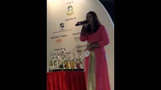 Pertandingan Karaoke Solo 2016 Di Singapore Expo- Wulan Merindu By Maya Rosliyanti