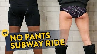 Repeat youtube video No Pants Subway Ride 2017