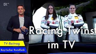 Racing Twins haben Großes vor I Alesia & Jacqueline Kreutzpointner im Fernsehen I ADAC GT4 GERMANY