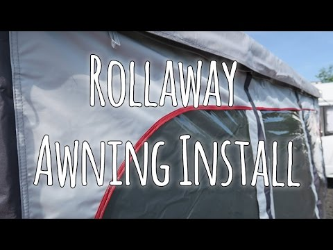 Installing A Quest Leisure Rollaway Caravan Awning