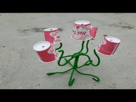 Best use of papercups !! DIY with papercups