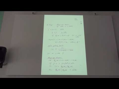 "Tatsuro Ito - Plenary talk ""Towards the classification of (P and Q)-polynomial Association Schemes"""