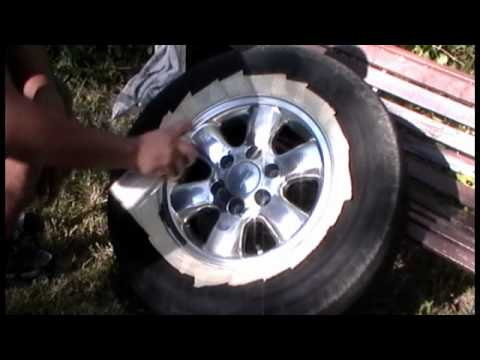 Chevy Silverado Custom Wheels >> How to paint your stock rims black - YouTube