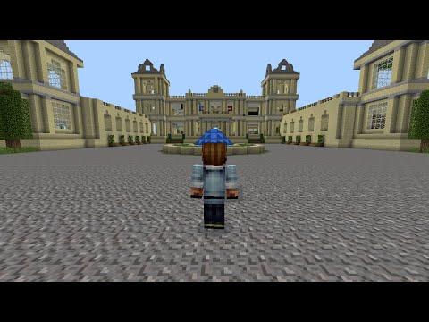 Minecraft pe - The Wayne Manor and Batcave