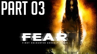 F.E.A.R PC Game (Horror + FPS) 2003. PT03