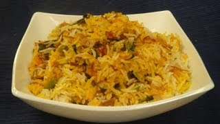 Vegetable Biryani   Sanjeev Kapoor Khazana
