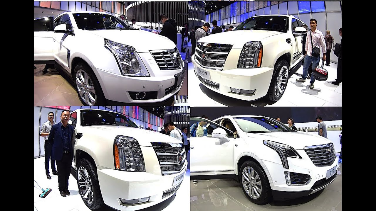Top 3 2016 2017 Cadillac Suvs Escalade Xt5 Srx All New Model