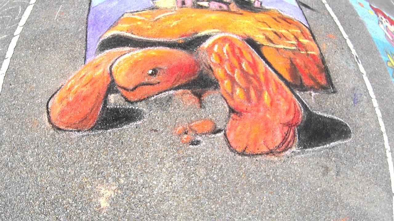 FLIMP Festival 2015 - Chalk Art Gallery - YouTube