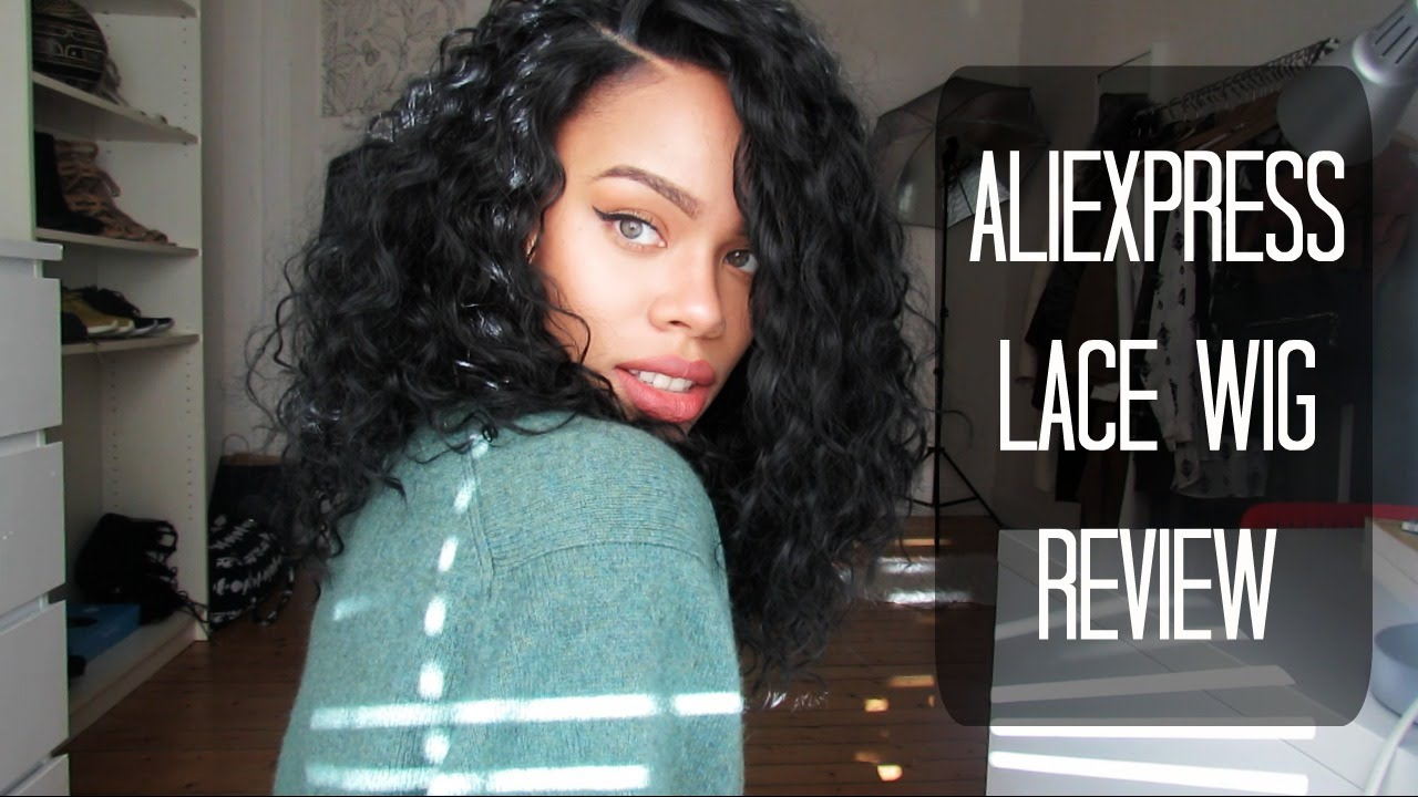 Aliexpress Curly Synthetic Lace Front Wig Review