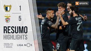 Highlights   Resumo: Famalicão 1-5 Benfica (Liga 20/21 #1)