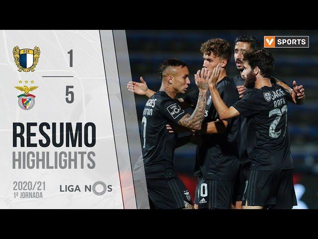 Highlights | Resumo: Famalicão 1-5 Benfica (Liga 20/21 #1)